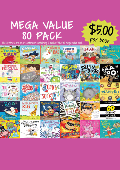 Mega Value Sale Pack - 80 Assorted picture books Cover