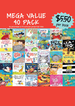Mega Value Sale Pack - 40 Assorted picture books