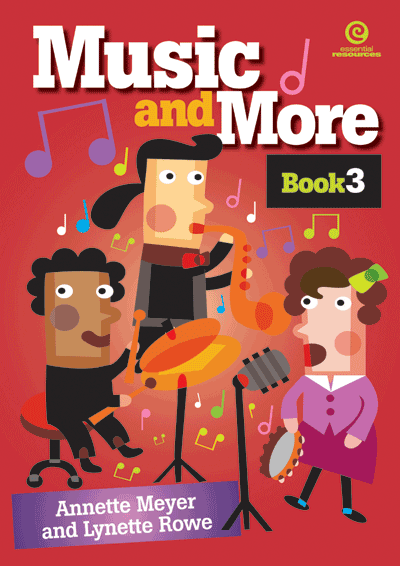Music and More Bk 3 Cover