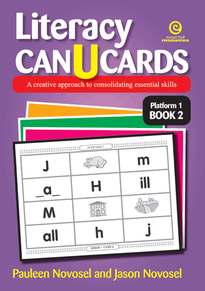 Literacy CAN U CARDS Platform 1 Bk 2 Cover
