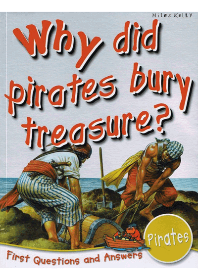 Why did pirates bury treasure Cover