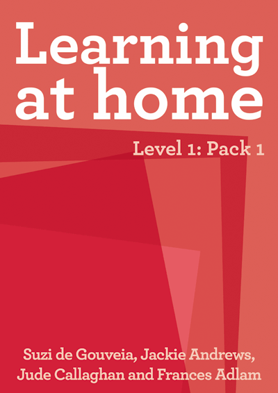 Learning at Home – Level 1: Pack 1 Cover
