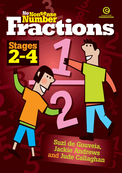No Nonsense Number Fractions: Stages 2-4 Cover