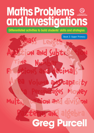 Maths Problems & Investigations: Bk 3 Upper Primary Cover