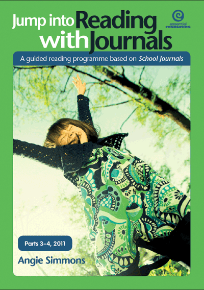 Jump into Reading with Journals (Parts 3-4), 2011 Cover
