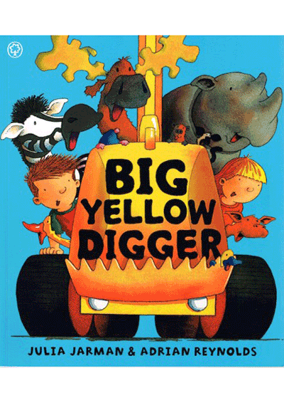 Big Yellow Digger Cover