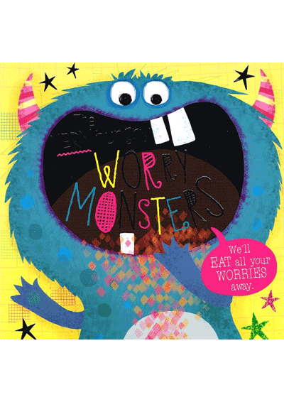 The Very Hungry Worry Monsters Cover
