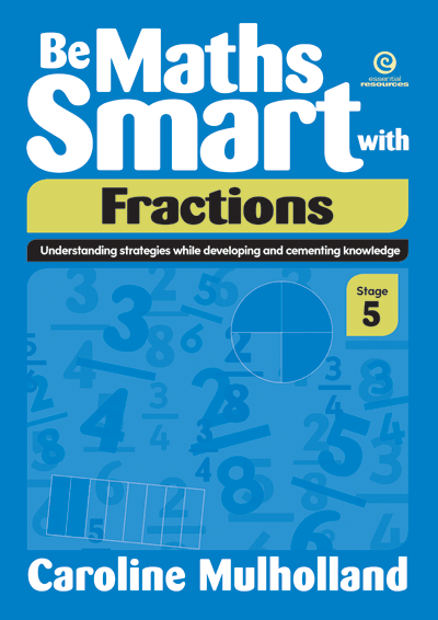 Be Maths Smart with Fractions, Stage 5 Cover