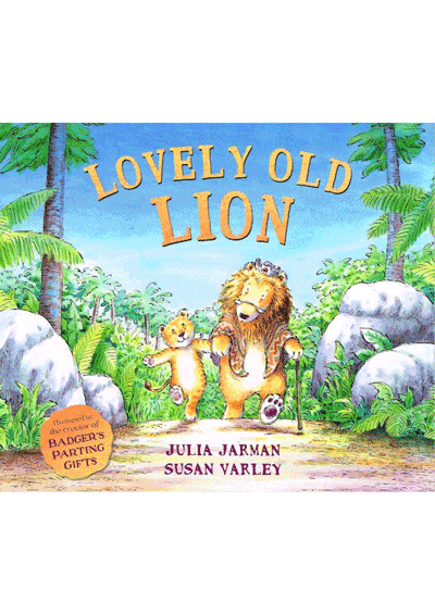 Lovely Old Lion Cover