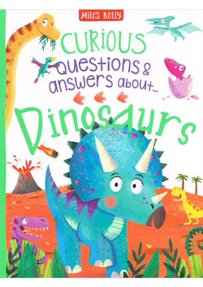 Curious Q&A - Dinosaurs Cover