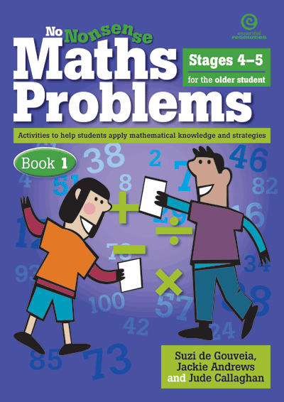 No Nonsense Maths Problems for Older Students Bk 1 Cover
