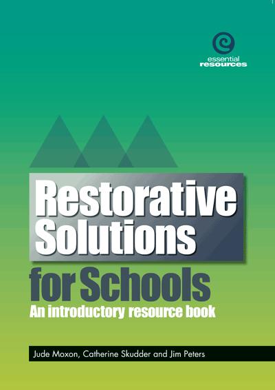 Restorative Solutions for Schools Cover