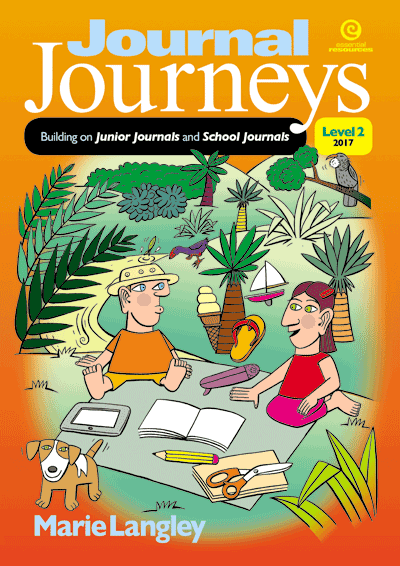Journal Journeys, Level 2, 2017 Cover