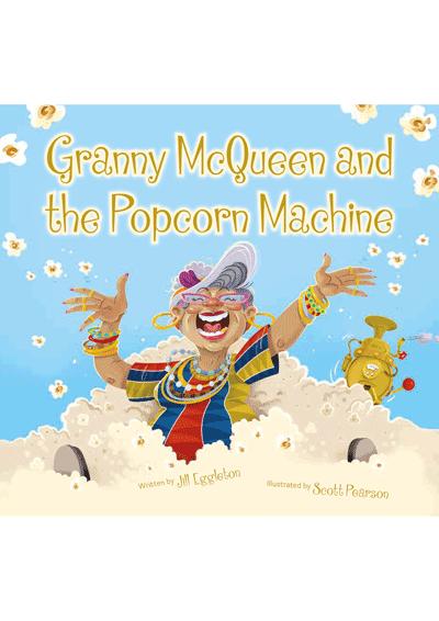 Granny McQueen and the Popcorn Machine Cover