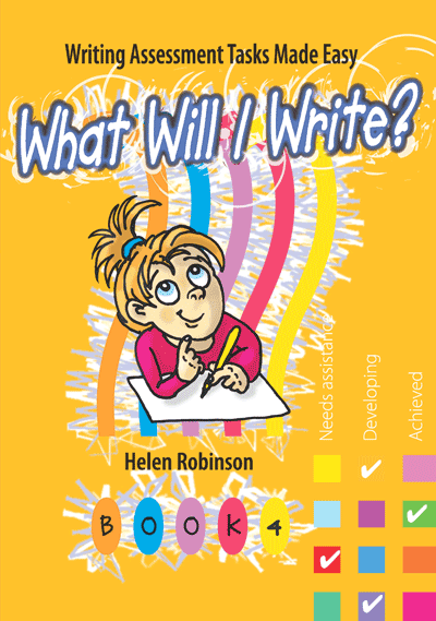 What Will I Write? Book 4 Cover