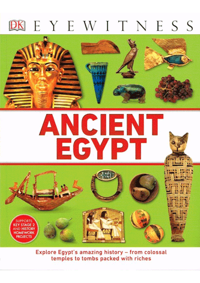 DK Eyewitness - Ancient Egypt Cover