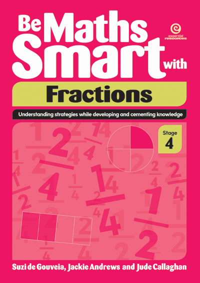 Be Maths Smart with Fractions, Stage 4 Cover