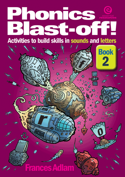 Phonics Blast-off! Bk 2 Cover