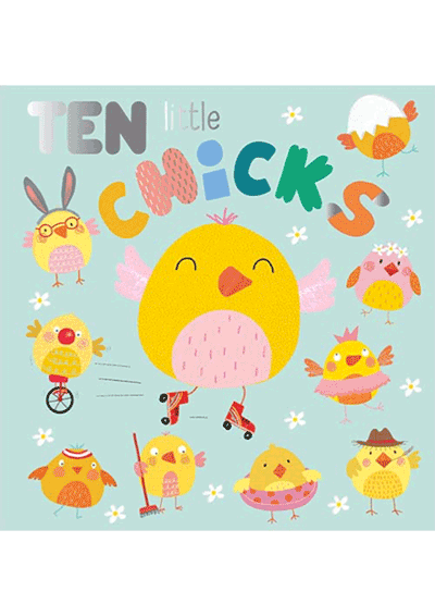 Ten Little Chicks Cover