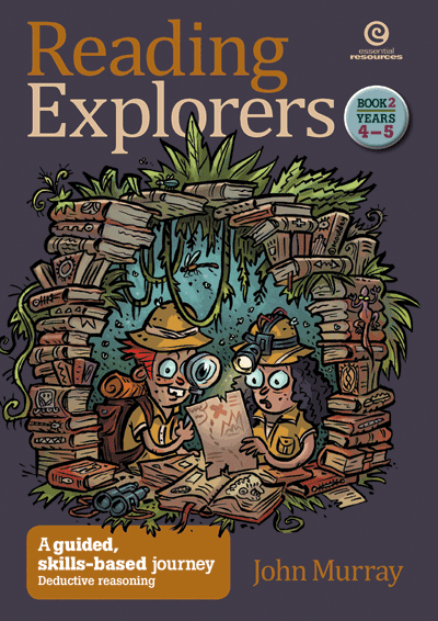 Reading Explorers Bk 2 Yrs 4–5: Deductive reasoning Cover