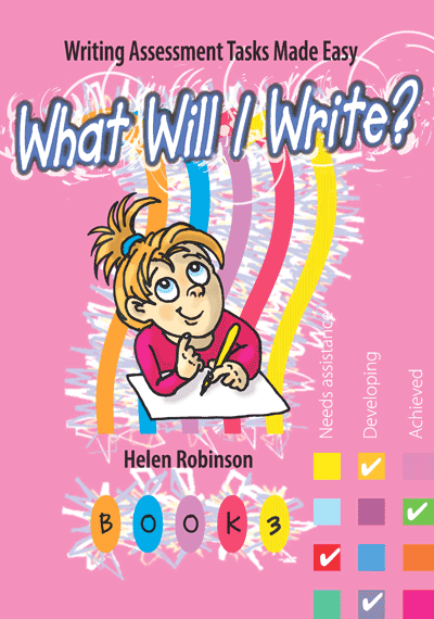 What Will I Write? Book 3 Cover