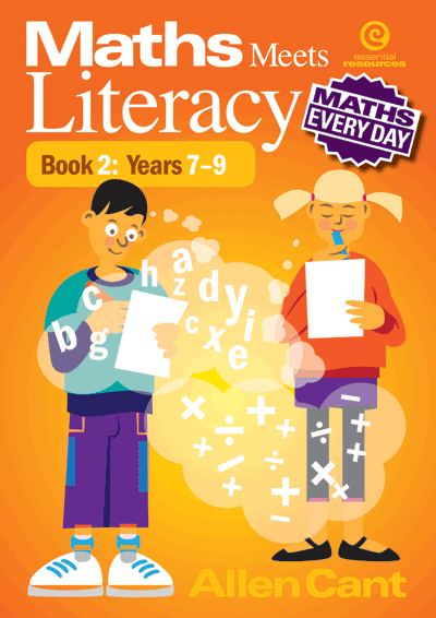 Maths Every Day: Maths Meets Literacy Bk 2: Years 7-9 Cover