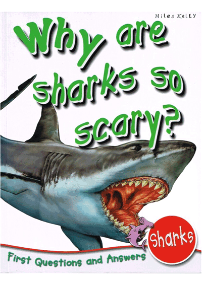 Why are sharks so scary? Cover