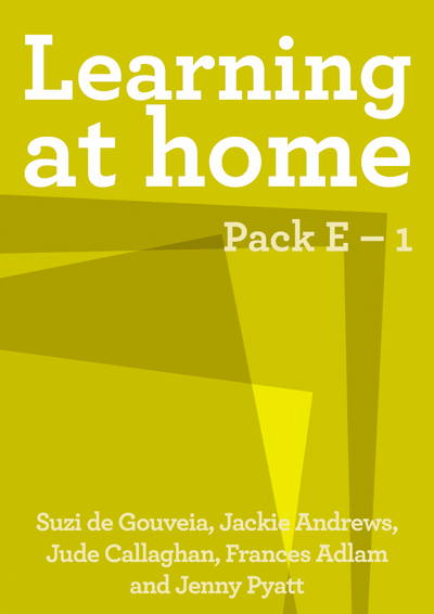 Learning at Home: Pack E – 1 Cover
