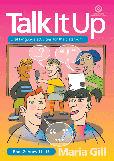 Talk it Up Bk 2 Ages 11-13 Cover