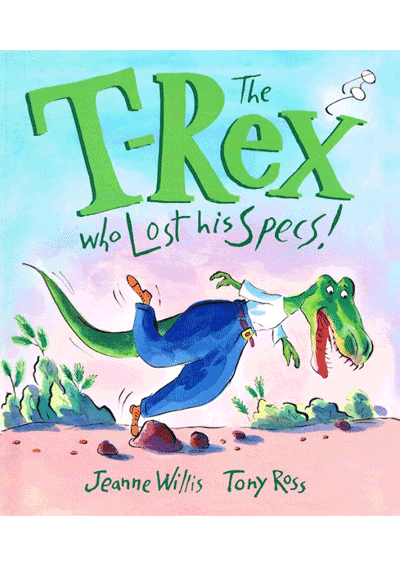 The T-Rex who lost his specs Cover
