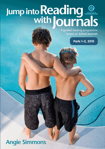 Jump into Reading with Journals (Parts 1-2), 2010 Cover