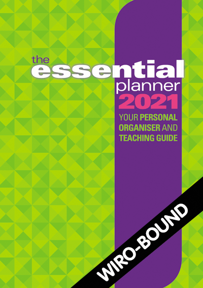 The Essential Planner 2021 Wiro-bound Cover