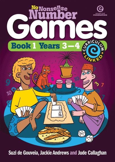 No Nonsense Number Games Bk 1 (Ys 3-4) Cover