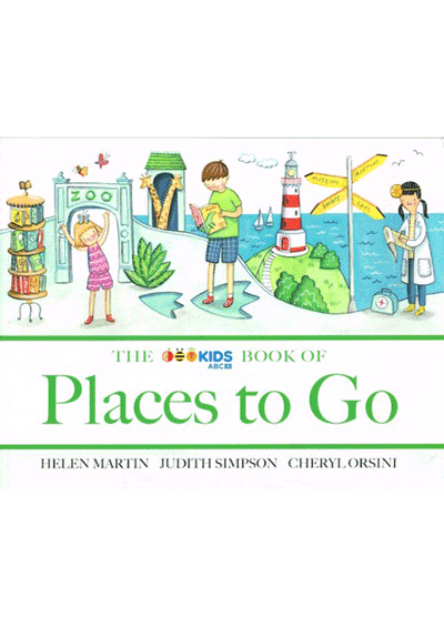 ABC Book of Places to Go Cover