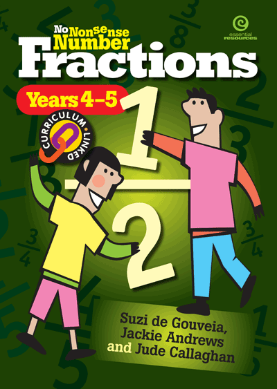No Nonsense Number Fractions (Y 4-5) Cover