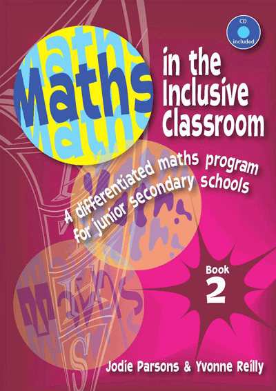 Maths in the Inclusive Classroom: Book 2 Cover