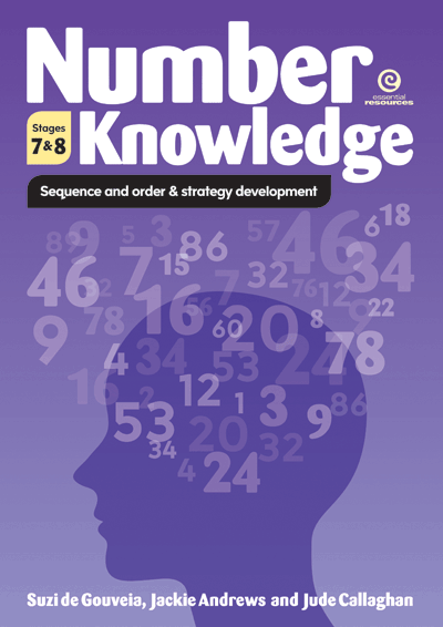Number Knowledge: Sequence, order & strategy (Stages 7 & 8) Cover