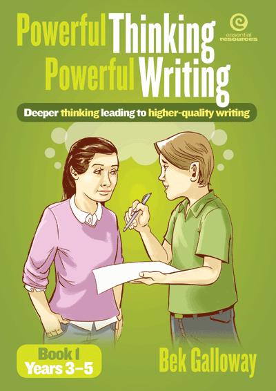 Powerful Thinking, Powerful Writing Bk 1 Yrs 3-5 Cover
