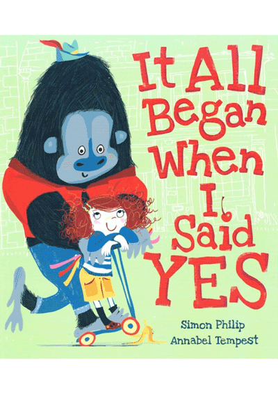 It All Began When I Said Yes Cover