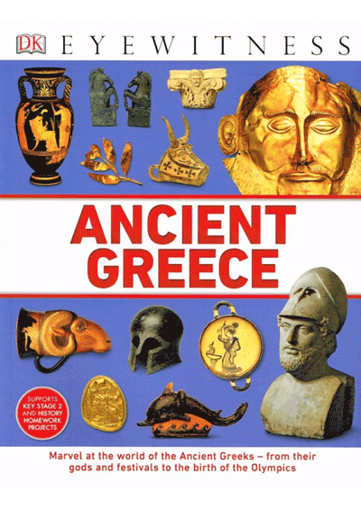 DK Eyewitness - Ancient Greece Cover