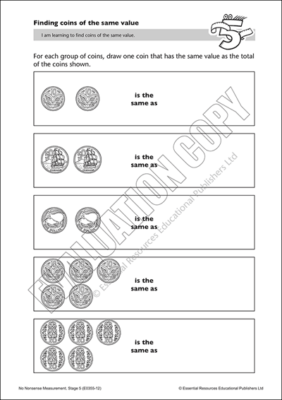 Find coins of the same value Cover
