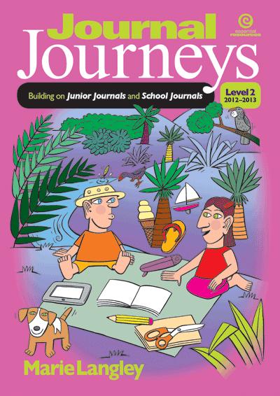 Journal Journeys, Level 2, 2012-2013 Cover