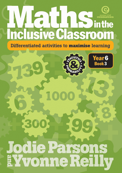 Maths in the Inclusive Classroom Yr 6 Bk 3 Cover