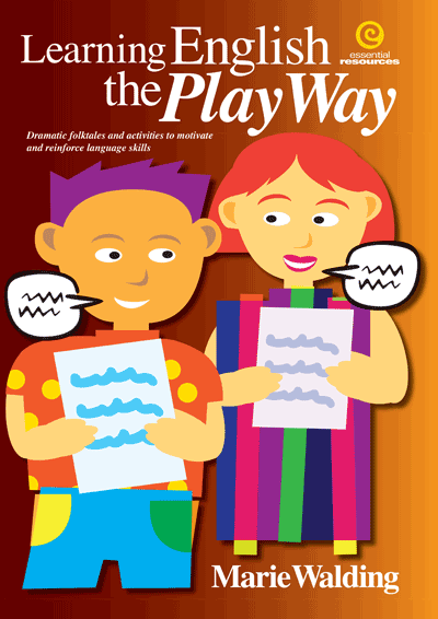 Learning English the Play Way Cover