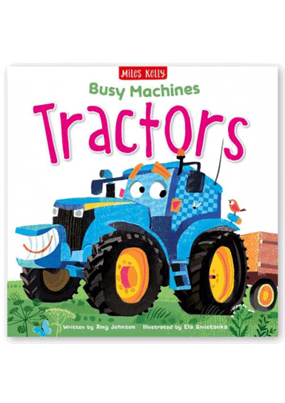 Busy Machines - Tractors Cover