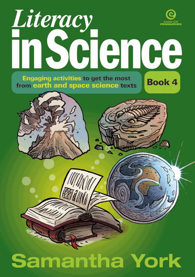 Literacy in Science Bk 4 Earth and space science Cover