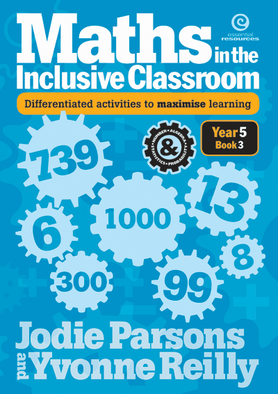 Maths in the Inclusive Classroom Yr 5 Bk 3 Cover