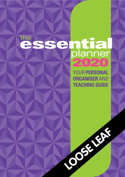 The Essential Planner 2020 Loose leaf Cover