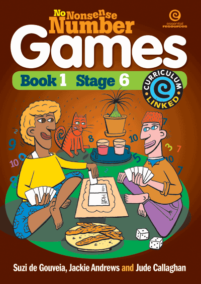 No Nonsense Number Games Bk 1: Stage 6 Cover
