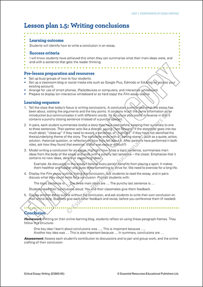 How to write a formal essay conclusion Cover